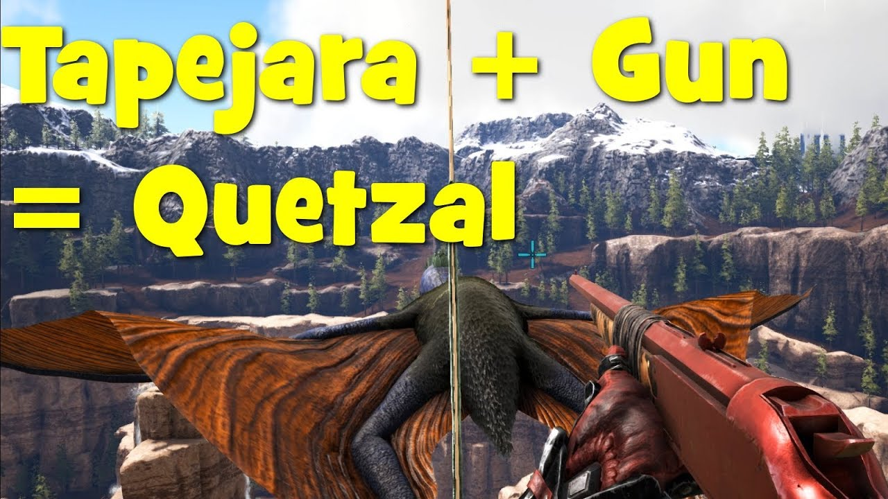 Ark how to solo tame quetzals with a tapejara youtube ark how to solo tame quetzals with a tapejara malvernweather Choice Image