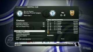 FIFA Soccer 10 Xbox 360 Video - My Live Season