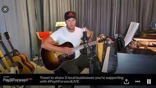 Luke Bryan ~ One Margarita ~ Verizon Live