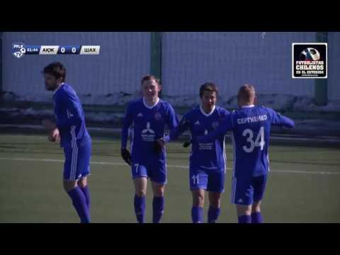Akzhayik 3-1 Shakhter Karagandy, Gol de Matías Rubio (A)