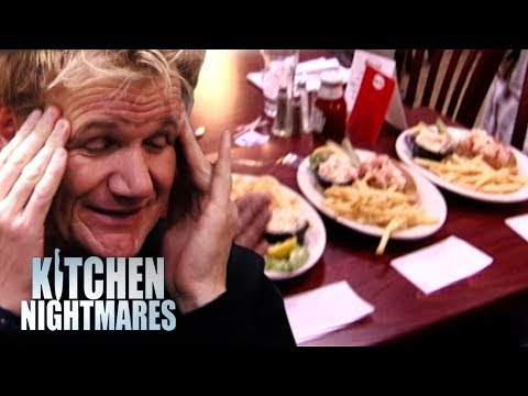 Gordon Ramsay is Served 3 AWFUL Lobster Rolls | Kitchen Nightmares thumbnail