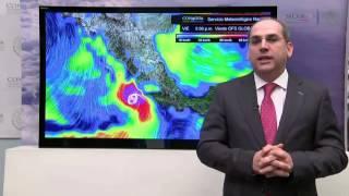 Conagua explica qué pasa con el huracán 'Patricia'