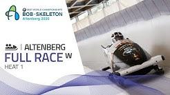 Altenberg   BMW IBSF World Championships 2020 - Women's Bobsleigh Heat 1   IBSF Official