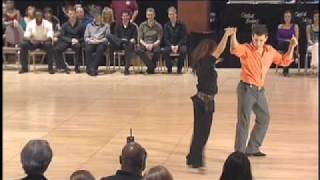 Brennar Goree and Patty Vo dance at Capital Swing 2010