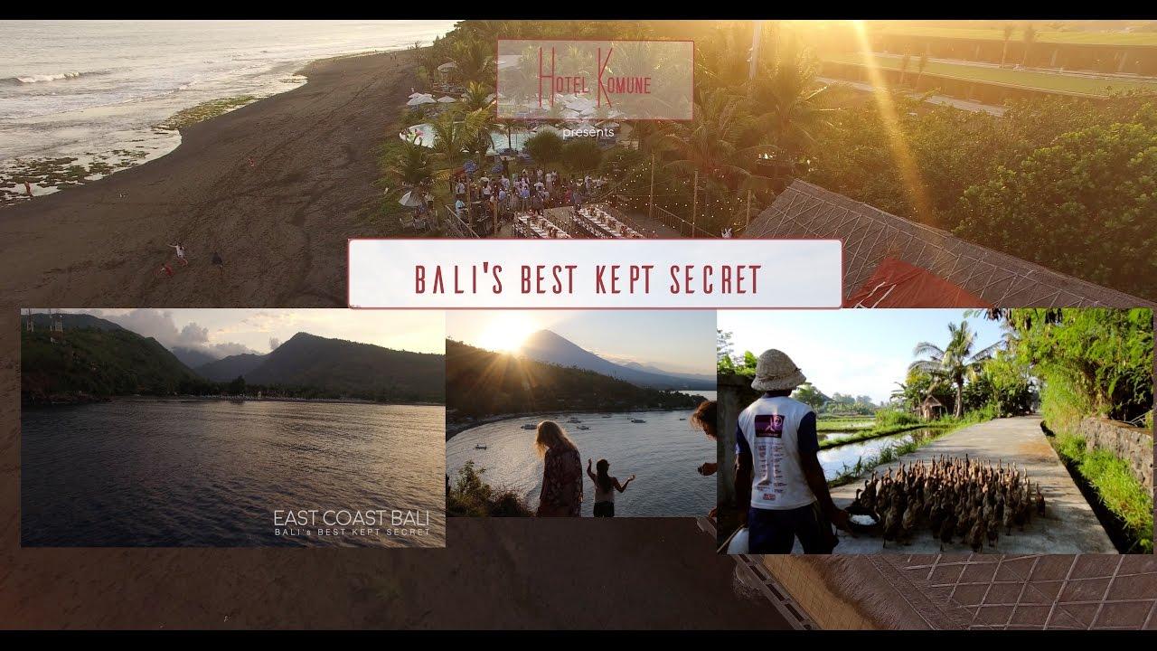 East Coast Bali S Best Kept Secret Youtube