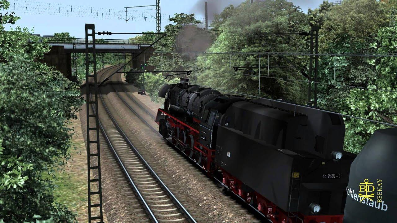 just trains romantic railroads german br 44 class. Black Bedroom Furniture Sets. Home Design Ideas