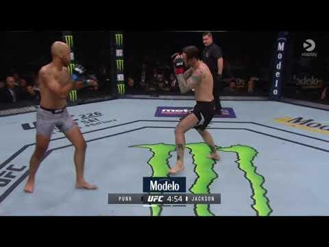 Cm punk 2nd Fight in UFC