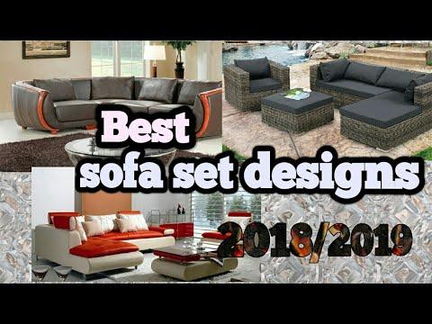 7 Best Sofa Set Designs in 2018 / 2019 – Latest Model  - YouTube