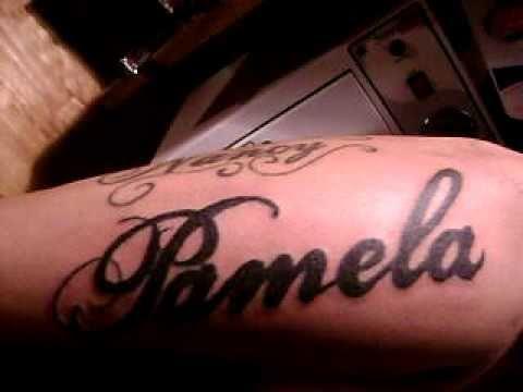 Tatuaje Nombres Antebrazo 3 Seción Youtube