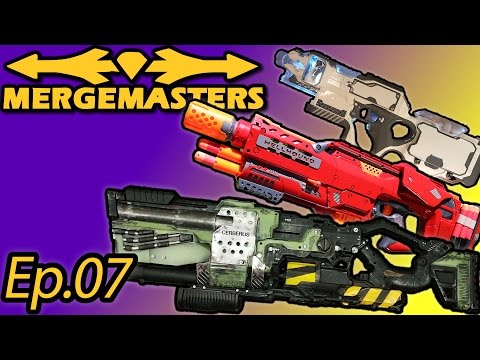 MERGE MASTERS - r/Nerf Integration Contest Winners - ModCast Ep.07