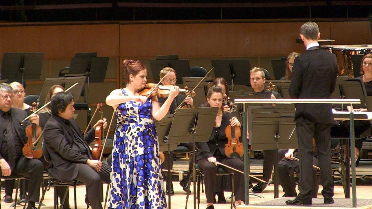 video: Jessica Linnebach performs Mozart's violin concerto no. 3