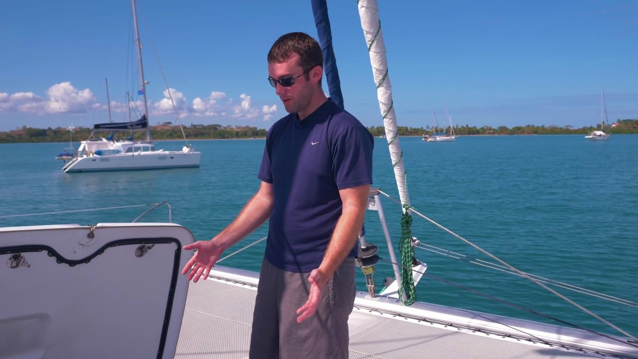 How We Set Up Our Catamaran to Sail Around The World