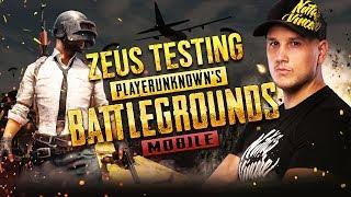 Zeus testing PUBG Mobile