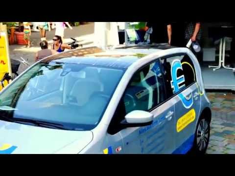 Cute Solar Car from Germany is 100% Electric