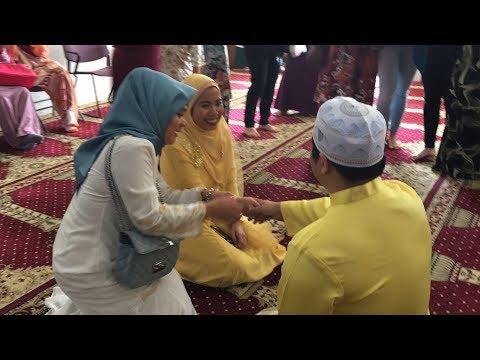 Our Malay Wedding In USA (P3): Sarung Cincin Amirul & Nurul | First-Gen Americans Solemnization