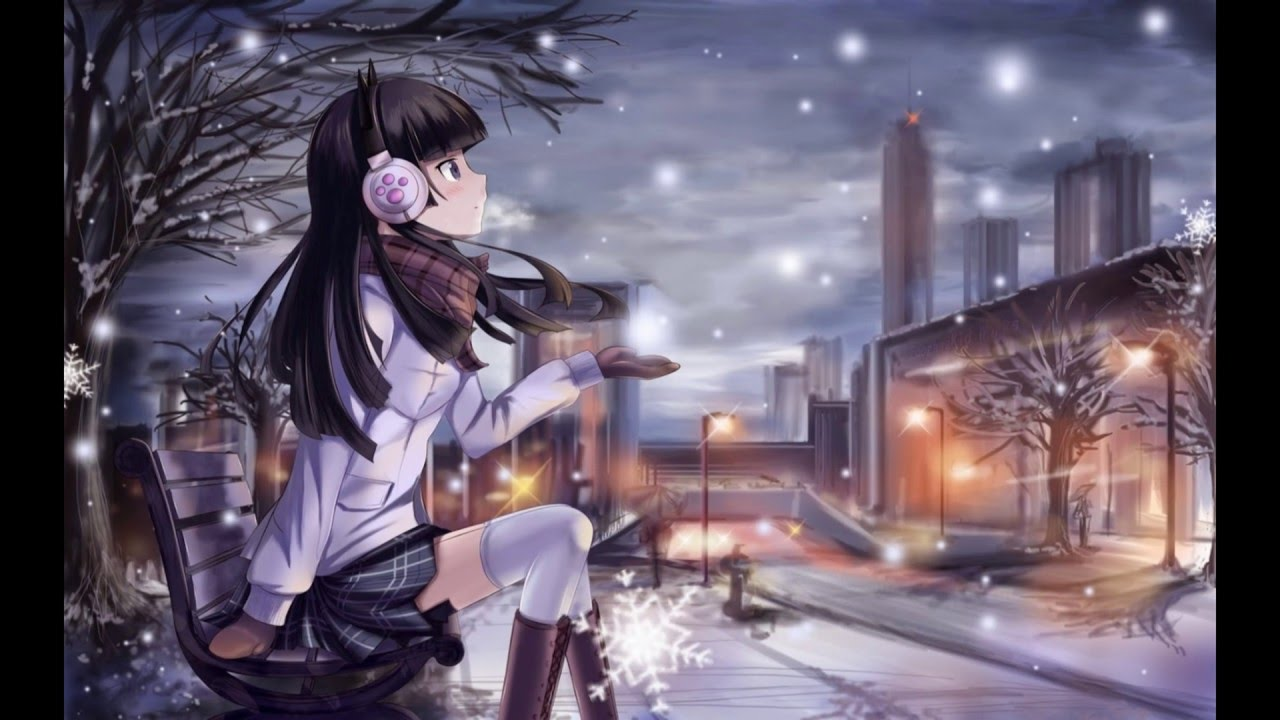 Cute Lonely Girl Hd Wallpaper Ichinen Nikagetsu To Hatsuka Kara Engsub Lyric Youtube