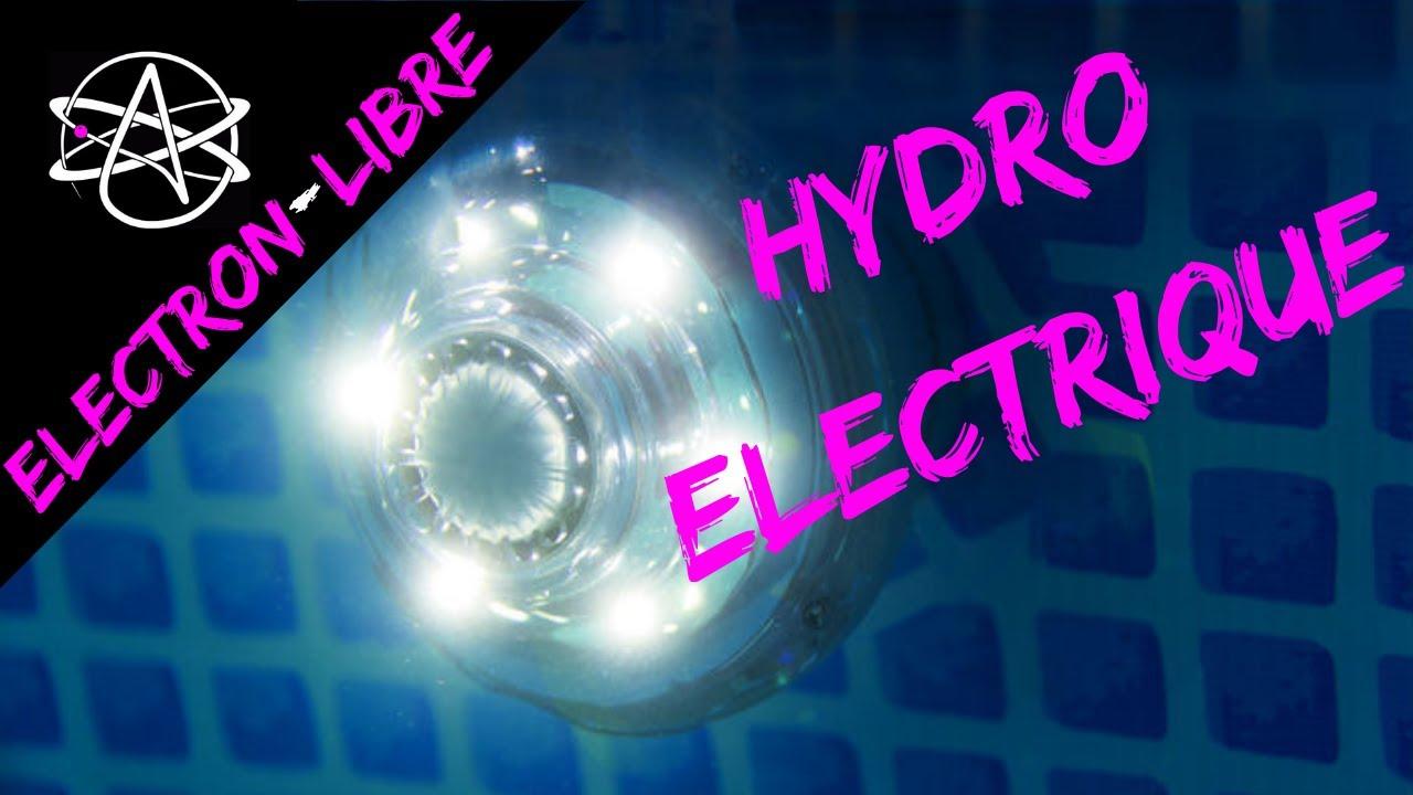 Lampe Led Intex A Generateur Hydroelectrique Youtube
