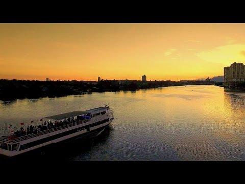 Sunset Cruise l Sarawak River Cruise l Kuching l Sarawak Malaysia l Borneo