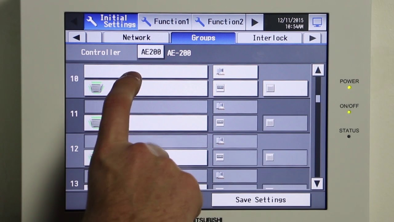 tech tips how to start up the ae 200 central controller (l) youtube