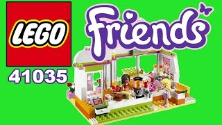 Lego Friends Review Set Heartlake Juice Bar (unboxing And Build Item 41035 樂高檢討友)