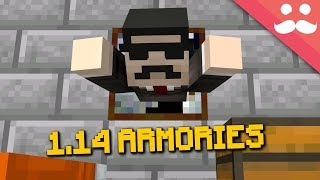 EASY Armories in Minecraft 1.14