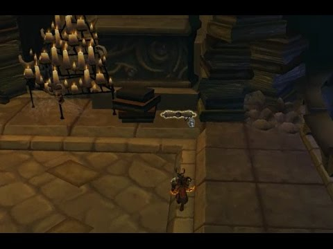 World of Warcraft Long Buried Knowledge Legion Arcway Dungeon Quest Guide