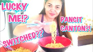 SWITCHED NOODLES | PANCIT CANTON & LUCKY ME BEEF | IVY SHEEN