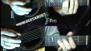 КИНО -- Хочу перемен (Уроки игры на гитаре Guitarist.kz)
