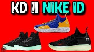 Designing the Nike KD 11 on NIKE ID