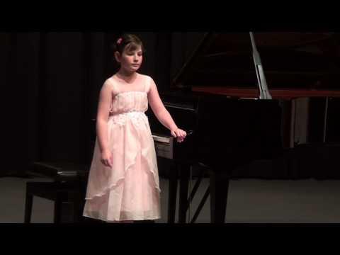 Pevzner, Katja, geb  2009, Klavier - P. Tchaikowsky Mazurka Op. 39 Nr. 10