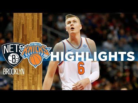 NEW YORK KNICKS vs BROOKLYN NETS   (HD Highlights)   NBA Season 2017-18