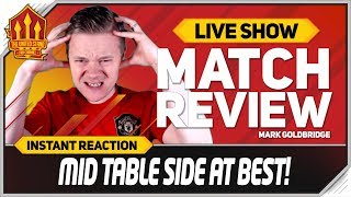 Goldbridge Southampton 1-1 Manchester United Match Reaction