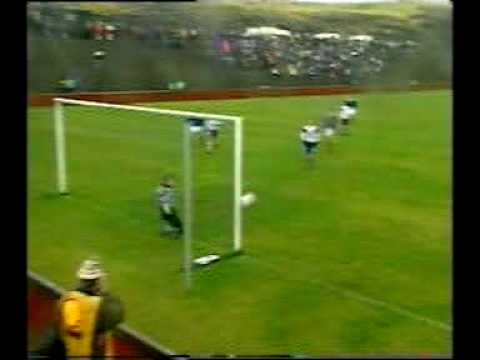 Faroes - Yugoslavia 1-8. 1998 World cup qualifiers. Biggest ever Faroese defeat