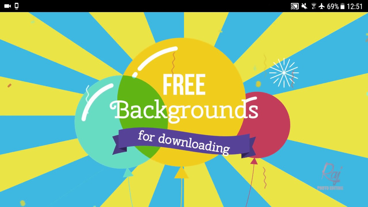 How To Download Free HD Backgrounds For Editing