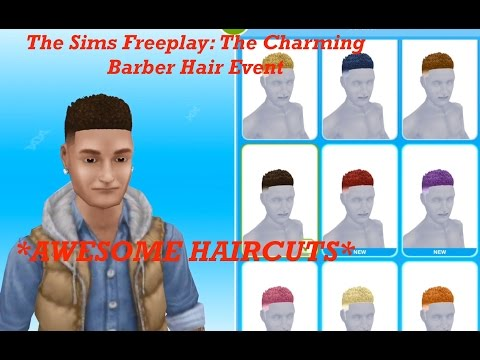 The Sims Freeplay Long Hair Event Part 2 By Skinny Plumbob