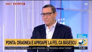 """Declarația explozivă a lui Victor Ponta: """"Liviu Dragnea s-a răzbunat pe mine. Modul lui de cond"""