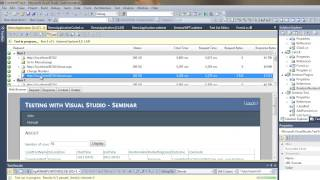 Creating Web Test and Load Test using Microsoft Visual Studio