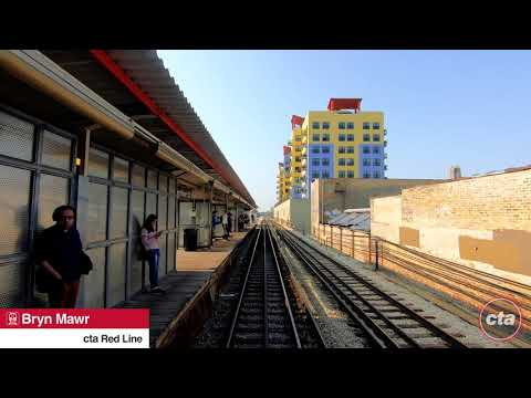 CTA's Ride the Rails: Red Line to 95th/Dan Ryan Real-time (2019)