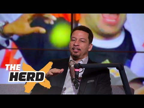 Chris Broussard talks Paul George to Cleveland, Steph Curry and 2017 NBA Finals | THE HERD