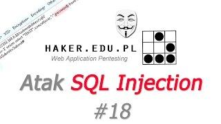 #18 SQL injection tutorial, UNION SELECT i phpMyAdmin w praktyce
