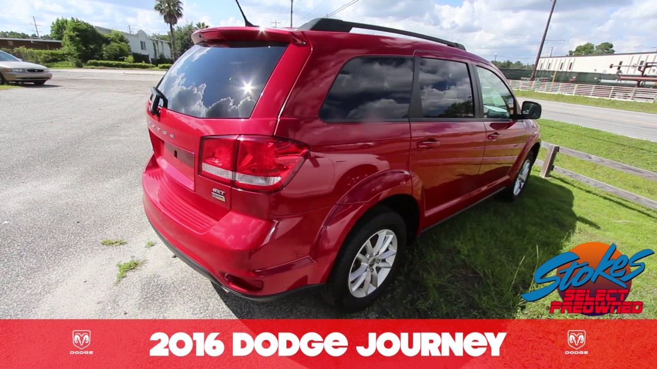 2016 dodge journey sxt for sale review at stokes select july 2017 youtube. Black Bedroom Furniture Sets. Home Design Ideas