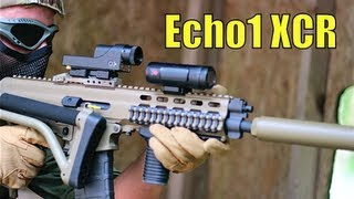 "Airsoft War We Scar, Echo1 Xcr ""the Fort"" Scotland"