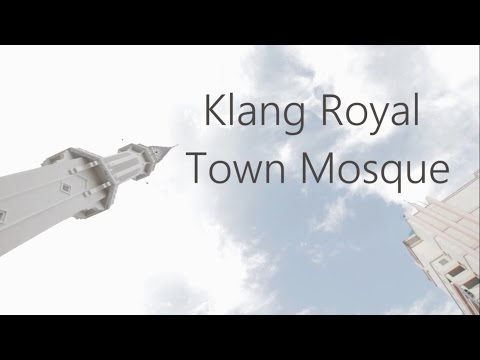 Introducing Klang Royal Town Mosque