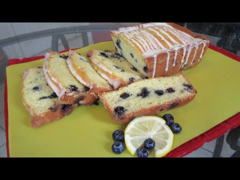 How to make Lemon Blueberry Bread from scratch