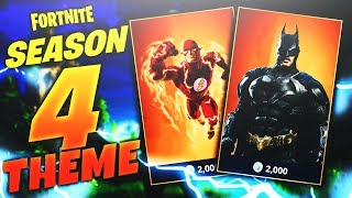 FORTNITE SEASON 4 THEME CONFIRMED! SUPERHEROES COMING TO FORTNITE! (Fortnite Battle Royale)