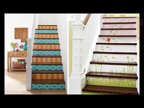 Pintar escaleras interiores youtube for Escaleras retractiles