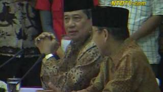 Calon Presiden Indonesia Dapatkan Nomor Urut