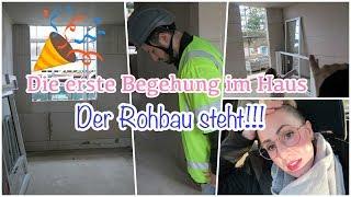 Bauvlog #6 | DER ROHBAU STEHT | Erste HAUS TOUR | Badezimmer Armaturen | Lilibeth