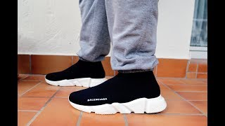 Balenciaga Speed Trainer Unboxing + on