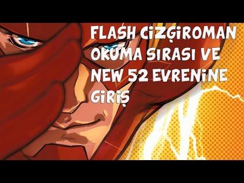 Flash çizgi Roman Okuma Sırası Ve New 52 Evrenine Giriş Youtube